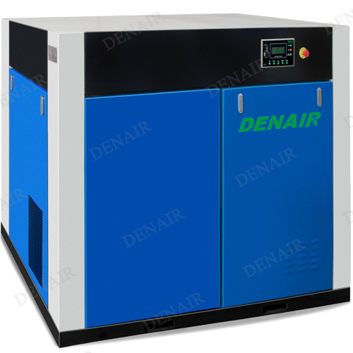 Silent Dry Oil Free Screw Air Compressor With Germany GHH Air End