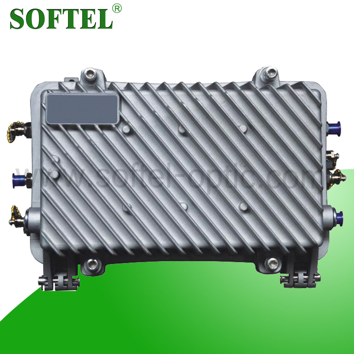 SA1022R 2 Output Waterproof Aluminum Hosing CATV Trunk Amplifier with Return Path 5-43/65MHz