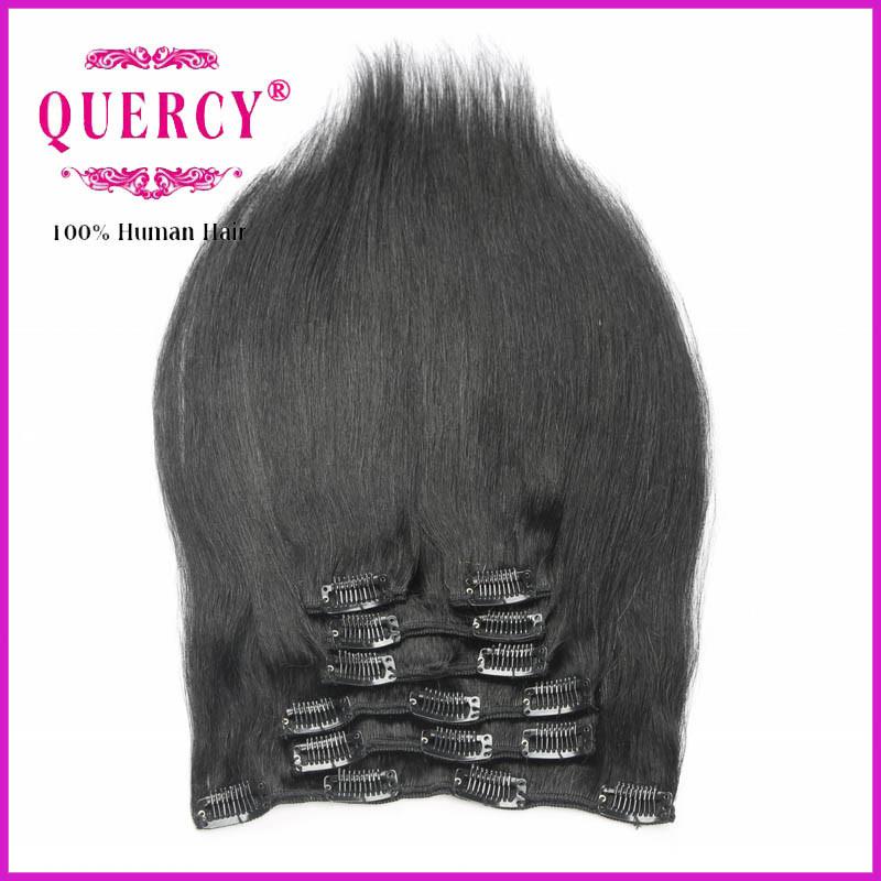 China Cheap Clip In Hair Extensions 100 Virgin Hair Top Quality