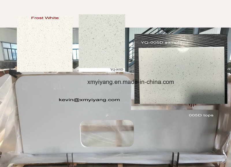 Match Caesarstone Silestone Cambria Quartz Countertops (YQ -QC 001) pictures & photos