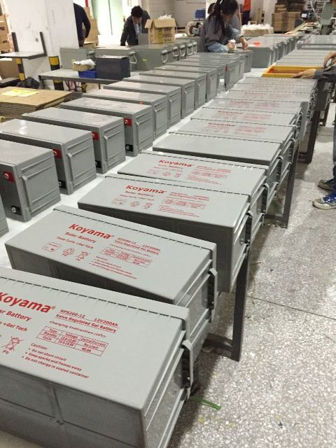 High Performance 12V UPS & Solar Deep Cycle Gel Battery AGM Storage Battery pictures & photos