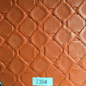 Synthetic Leather (Z35#) for Furniture/ Handbag/ Decoration/ Car Seat etc