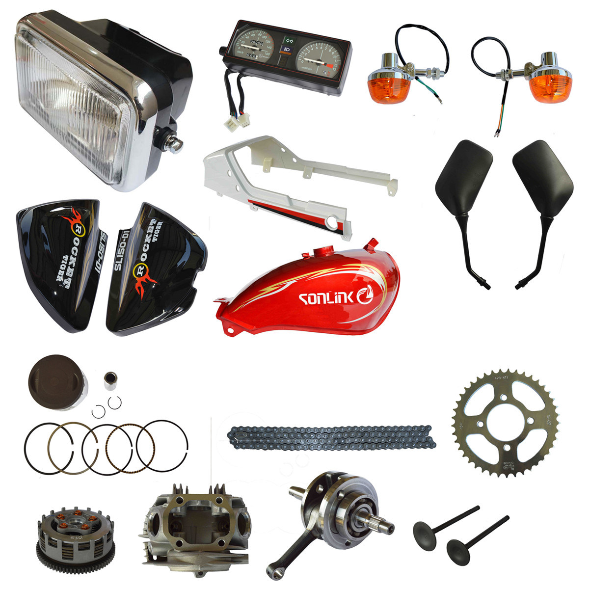 Motorcycle Manufactory All Models Motorcycle Spare Part