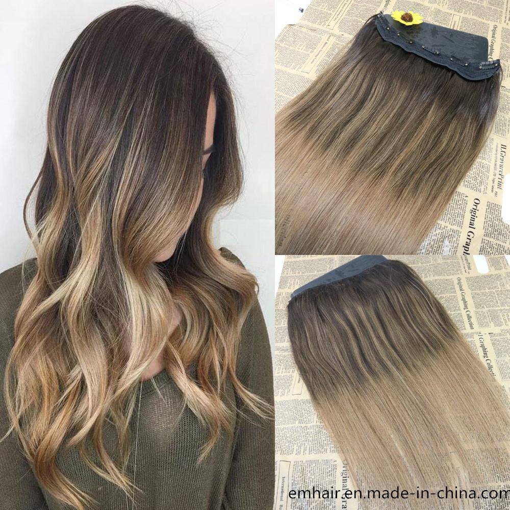 China Popular Tangle Free 100 Natural Brazilian Human Hair Balayage