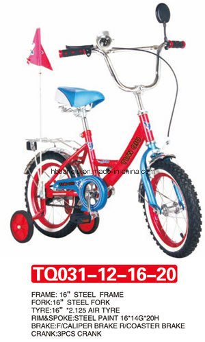 Beautiful of Baby Bicycle with Four Colors 12inch pictures & photos