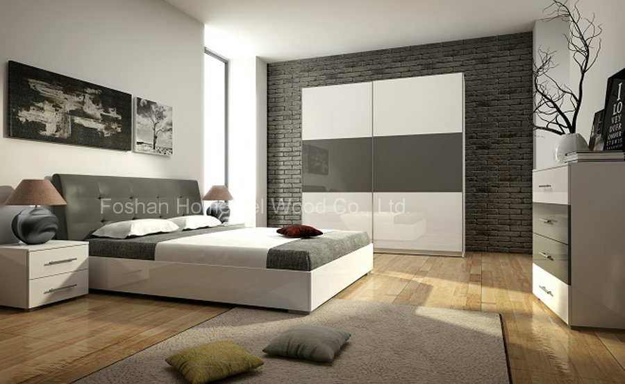 wooden furniture bedroom. Modern Wooden Furniture Bedroom Set (HF-EY0244) F