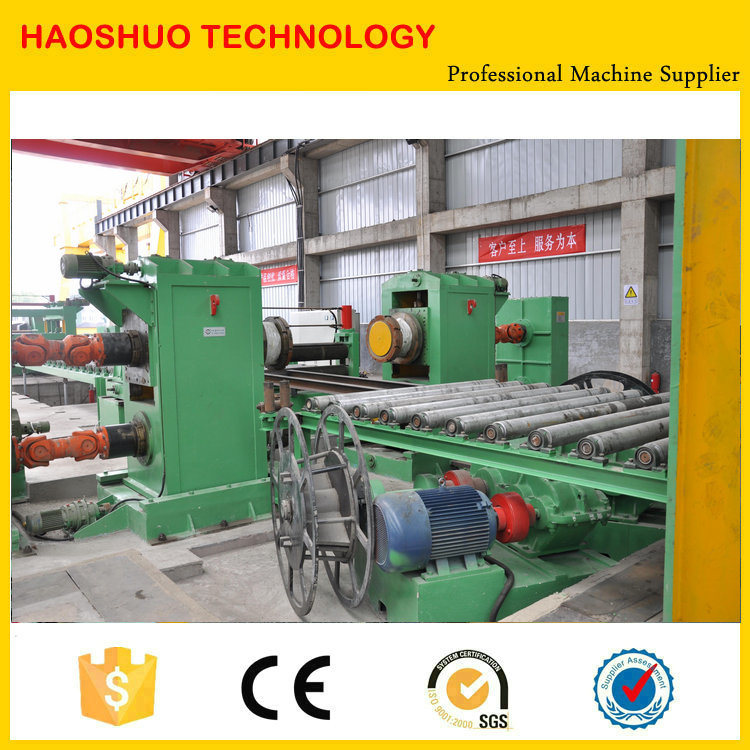 Steel Coil Straightening and Leveling Cut to Length Line pictures & photos