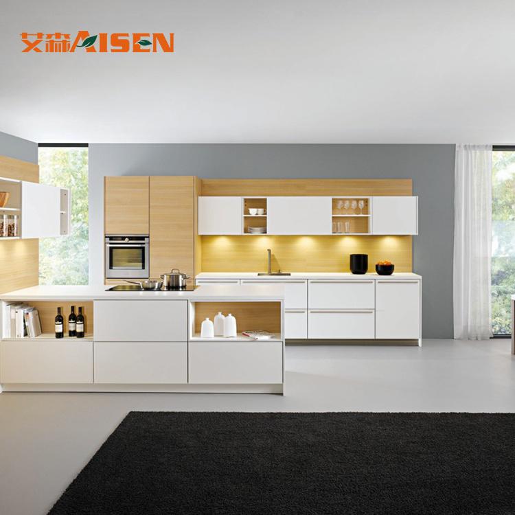 Hot Item Modern Style Italian Luxury Kitchen Furniture Modular Kitchen Cabinets