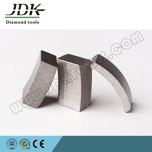 Roof Top Diamond Core Drill Segment for Reinforced Concrete Core Bit Drilling Segment pictures & photos