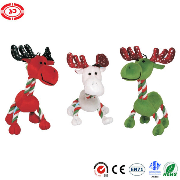 Dog Life Christmas Reindeer Plush Rope Dog Pet Toy pictures & photos