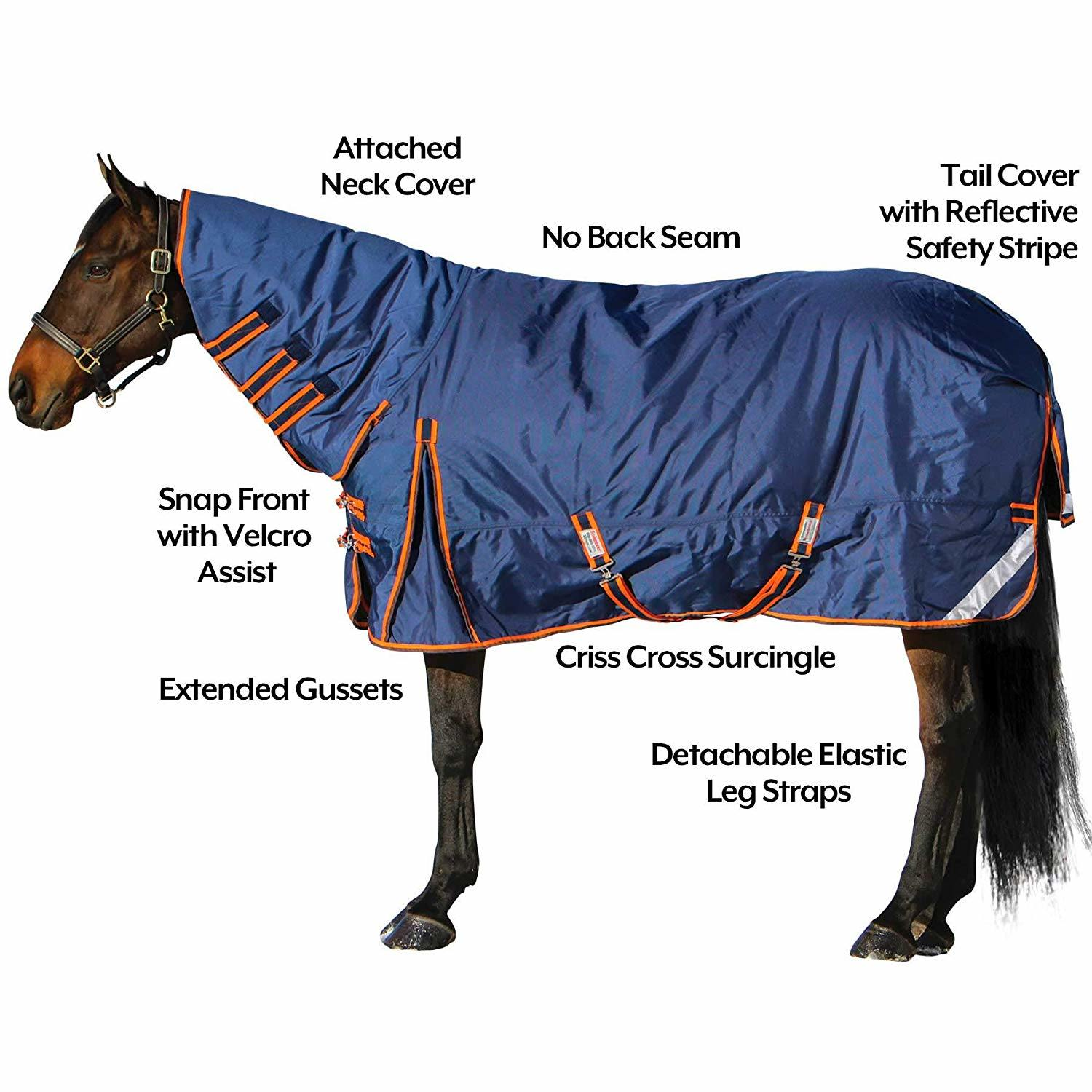 China Horse Turnout Sheet Winter Rug