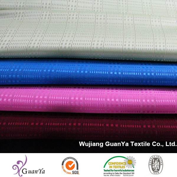 Jacquard Satin with Silver Silk for Malaysia Garment Especially for Blouse pictures & photos