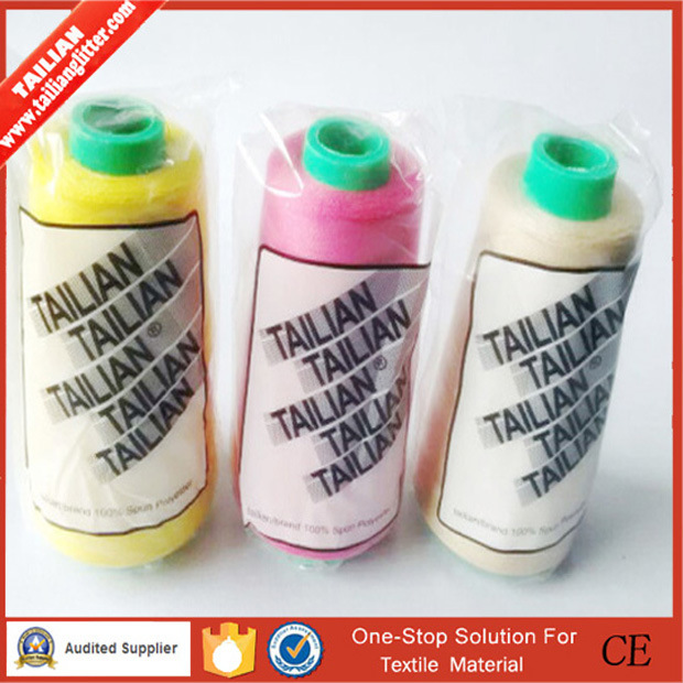 2016 Tailian 40/2 100% Polyester Sewing Thread