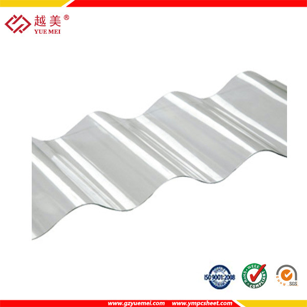 High Quality Polycarbonate Plastic Corrugated Sheet
