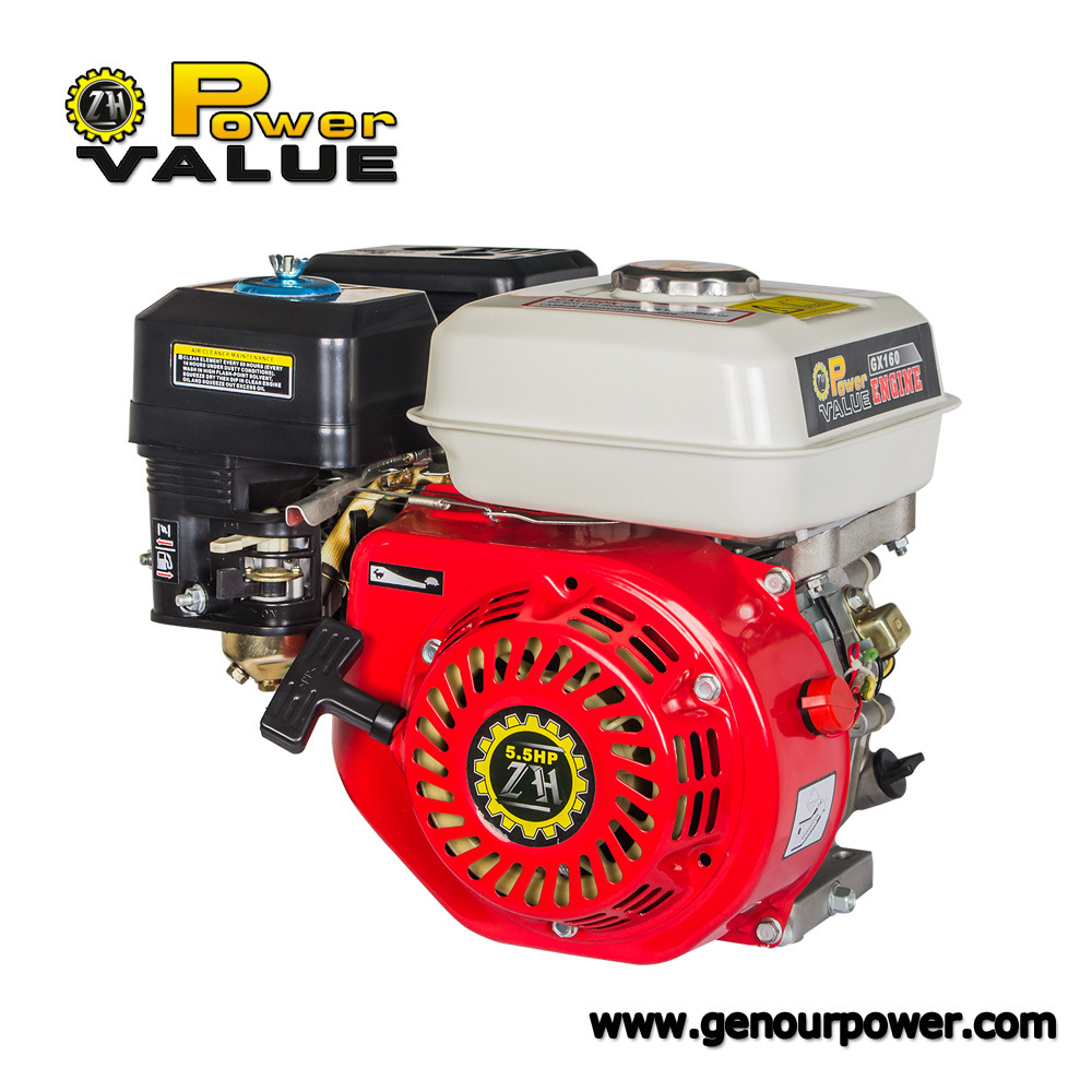 Gx160 Gx200 6.5HP 5.5HP 168f 4-Stroke Small Gasoline Gas Petrol Engine Key Start pictures & photos