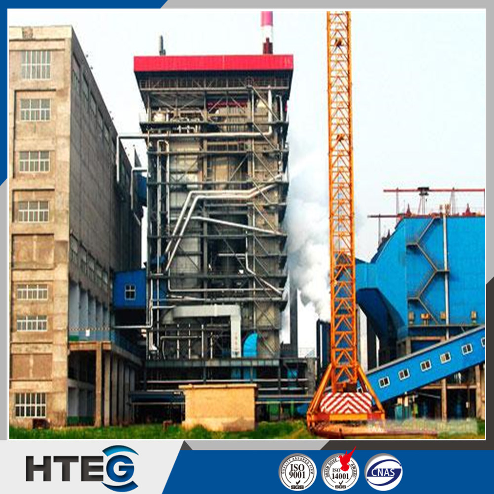 China High Thermal Efficiency Power Station Coal Fired CFB Steam ...