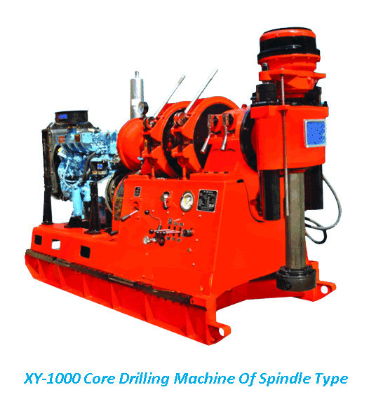 Core Drilling Machine Xy Series Hydraulic Power Core Drilling Machine for Sale