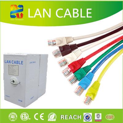 China UTP Cat5e Color Code Cable with CE - China UTP Cat5e Color ...