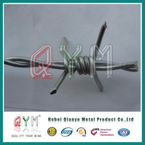 China Barbed Wire/ Galvanized Barbed Wire Fence/ Barbed Wire Length ...