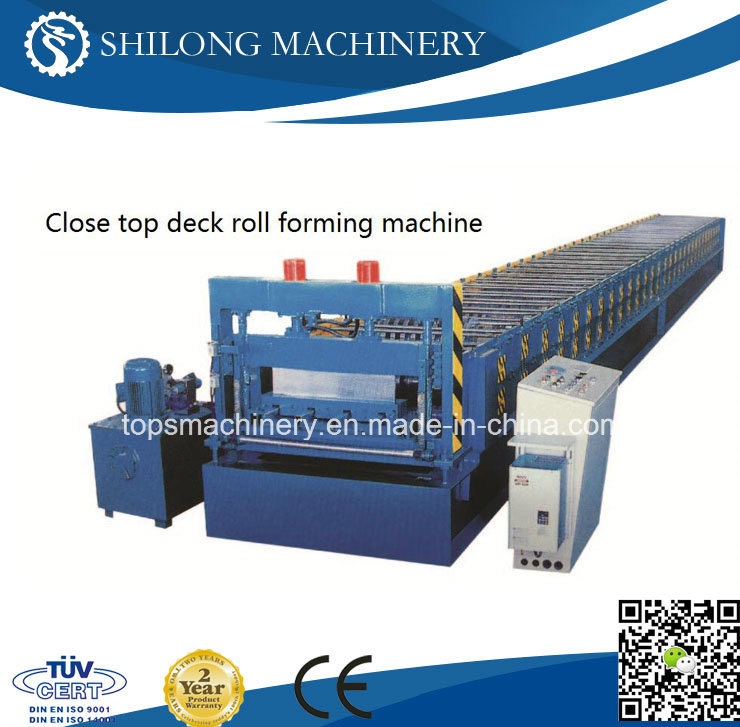 CE Approved Lifetime Service Metal Floor Decking Roll Forming Machine with ISO pictures & photos