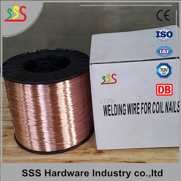 China Best Quality 0.7mm Copper Coated Welding Wire for Coil Nails ...