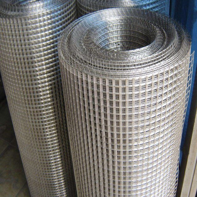 China Ss304 1 2 Inch X 1 2 Inch 1 2mm 18ga Stainless Steel Welded Wire Mesh China Wire Mesh Wire