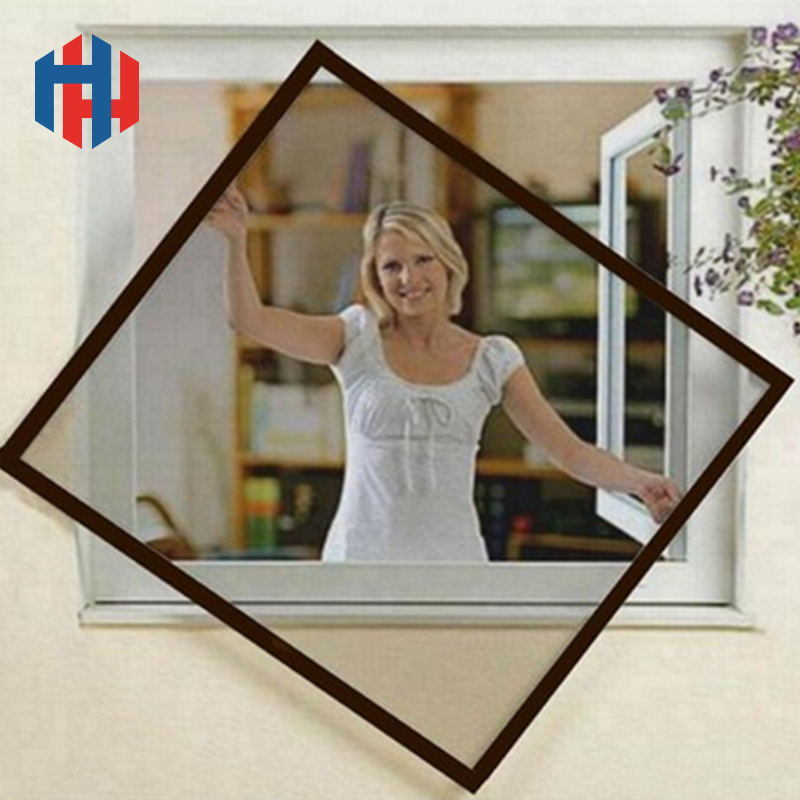China Diy Aluminum Frame Fliegengitter Fenster Wondow Screen Kits