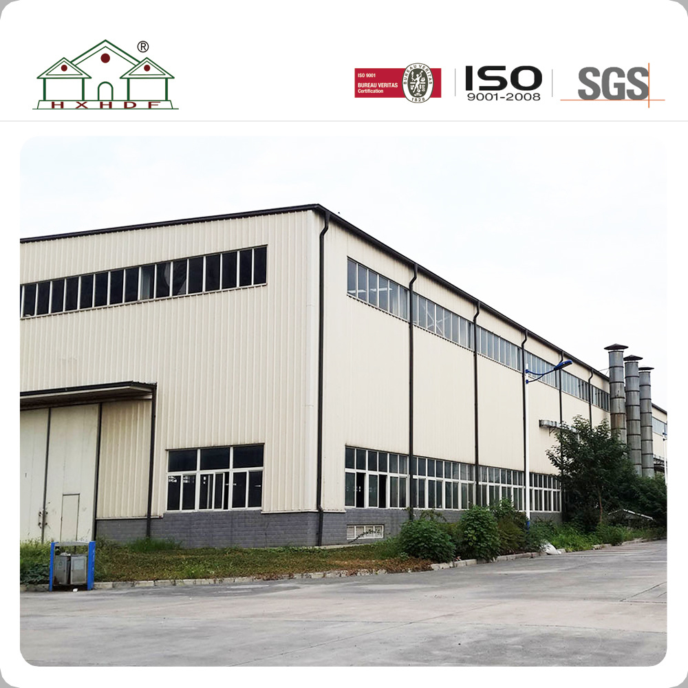 China Big Space Easy Installation Light Steel Frame Prefab Warehouse ...