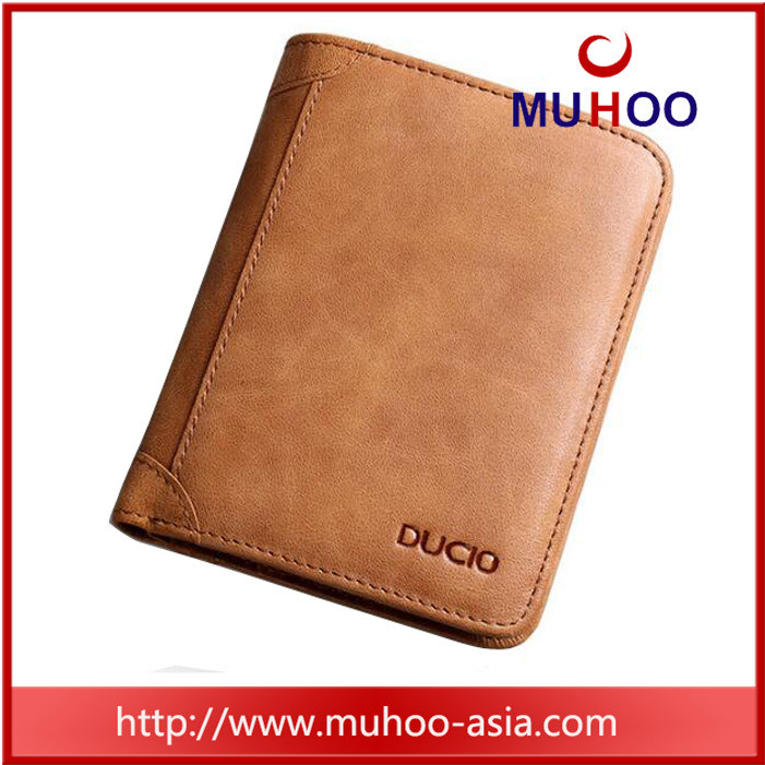 New Arrival Brown Men Leather Wallets for Travel pictures & photos