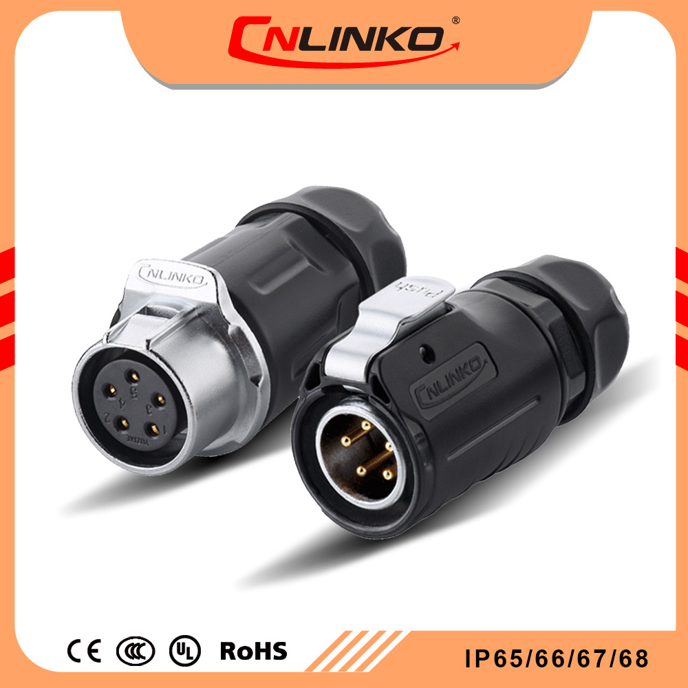 China Lp20 5 Pin Automotive Connector Ip65 Ip67 Underwater Welding Wiring Cable Price Reasonable Waterproof Electric