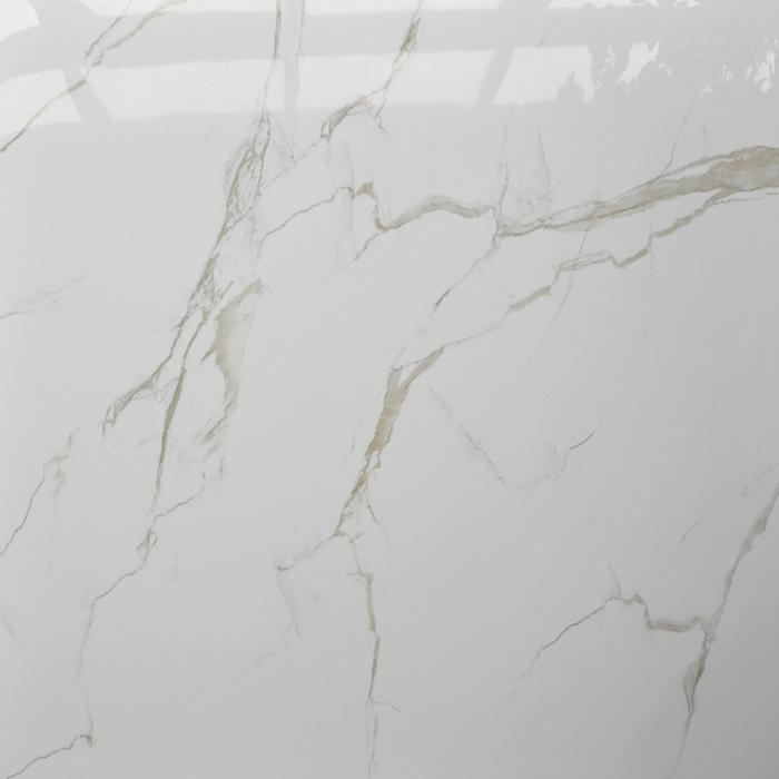 China 60x60 Drama Crystal Volakas White Marble Sanitary Royal