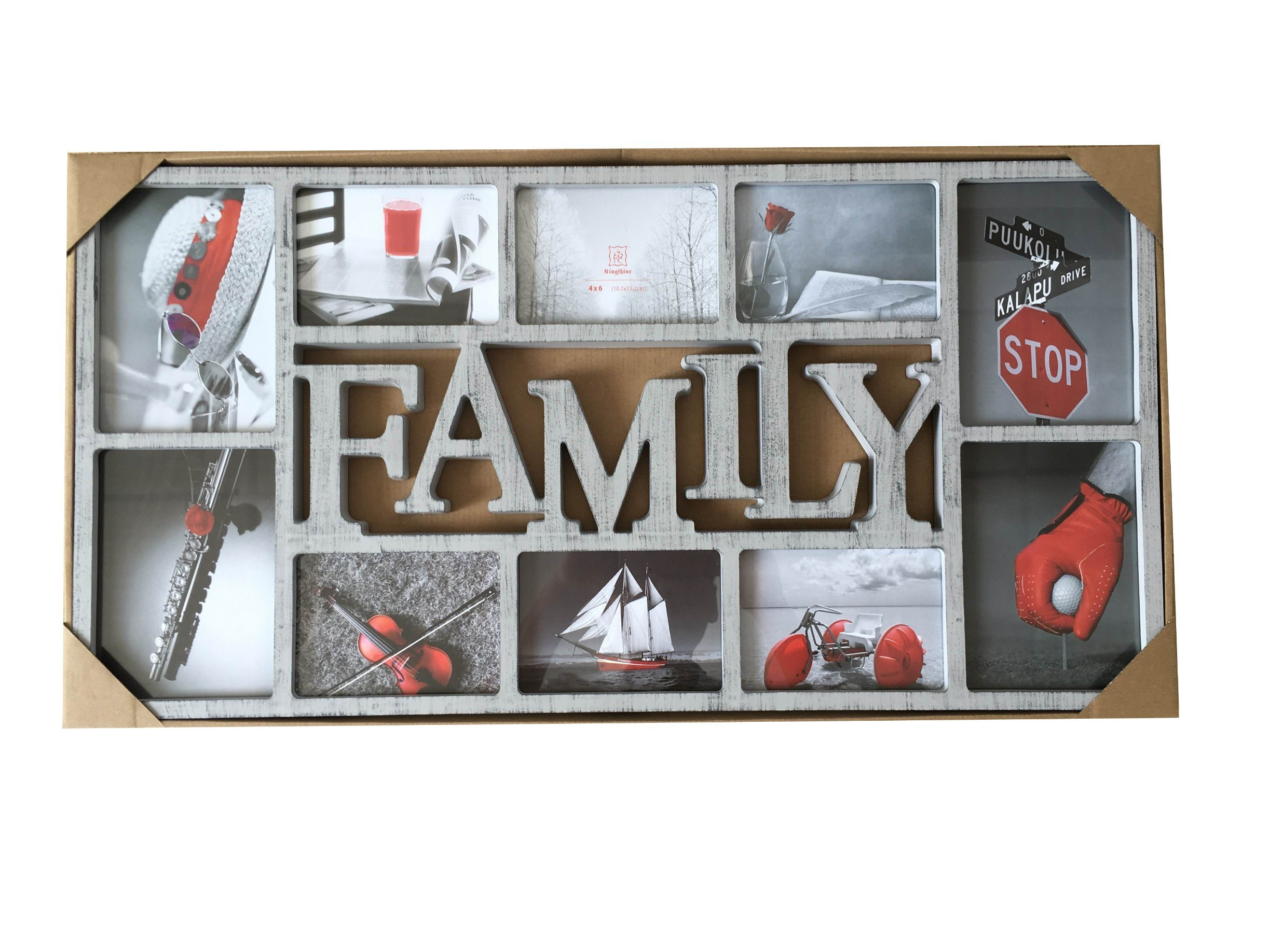 Opening Family Collage Photo Frame