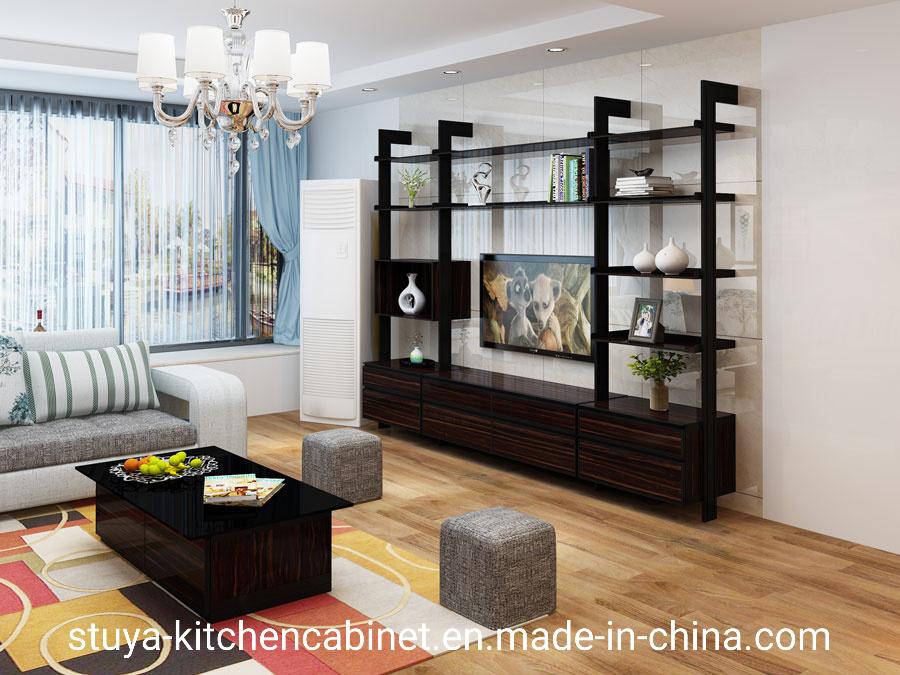 China New Model Luxury Design Living Room Home Furniture Aluminum Tv Cabinet Design Modern Tv Cabinet Booth Design Set China Tv Cabinet Tv Lift Cabinet