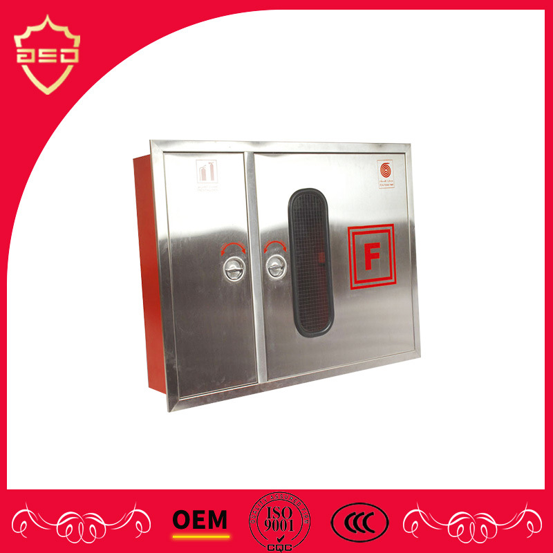 China Stainless Steel Fire Hose Reel And Fire Extinguisher