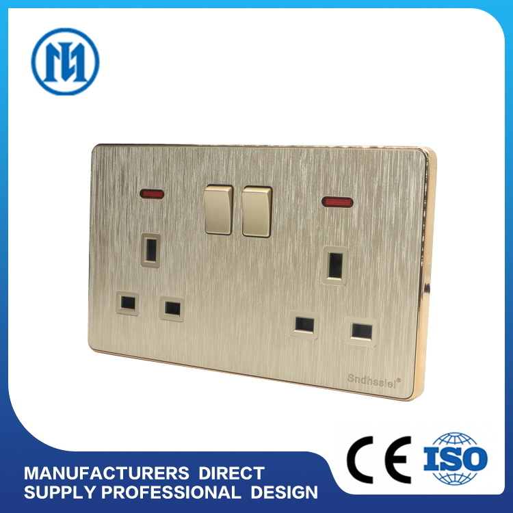 China Home Hotel Electrical Wall Switch One Gang One Way Push Button ...
