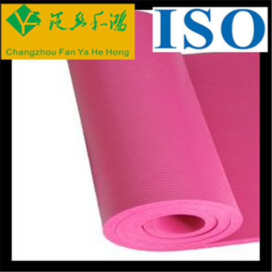 High Density Eco-Friendly Material NBR Yoga Mat pictures & photos