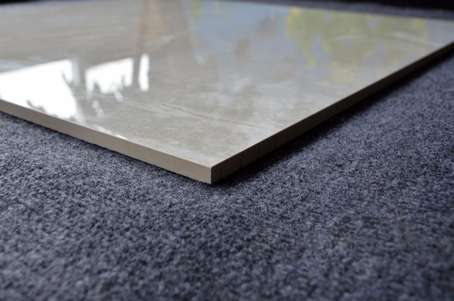 China Cheap Hot Sale Milan Vitrified off White Ceramic Floor Tile ...