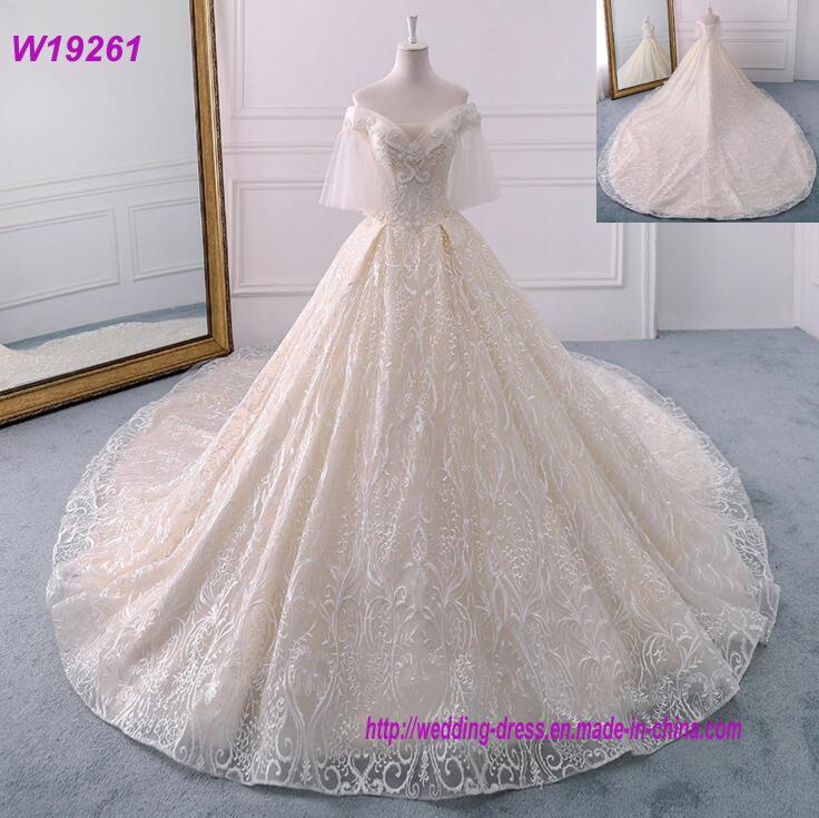 China New Bride Princess Fantasy Wedding Dress