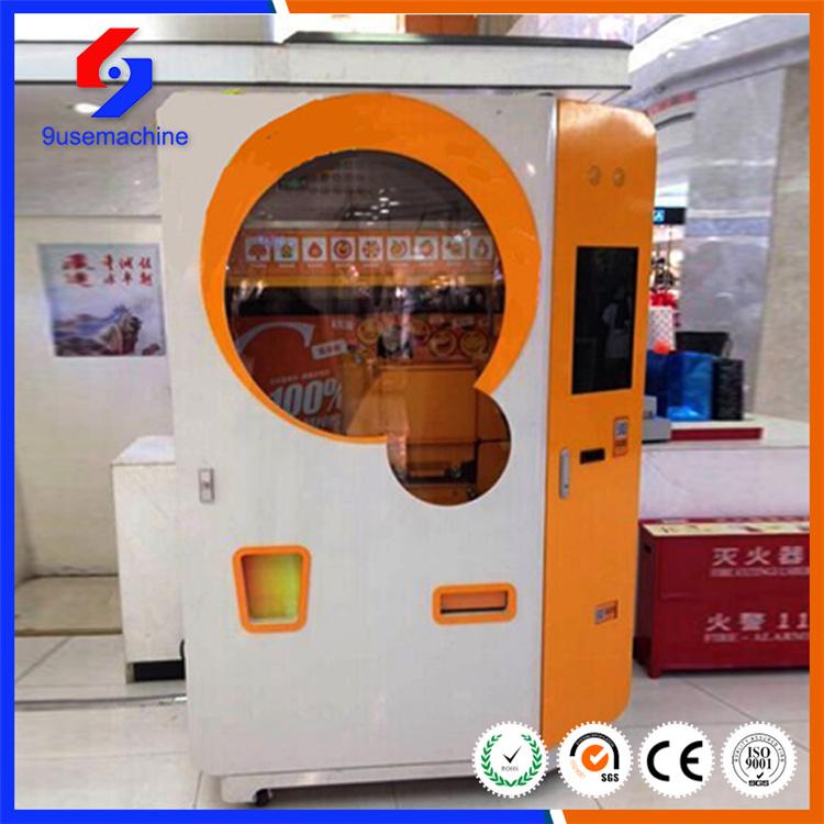 China New Model Fresh Squeezed Orange Juice Vending Machine With
