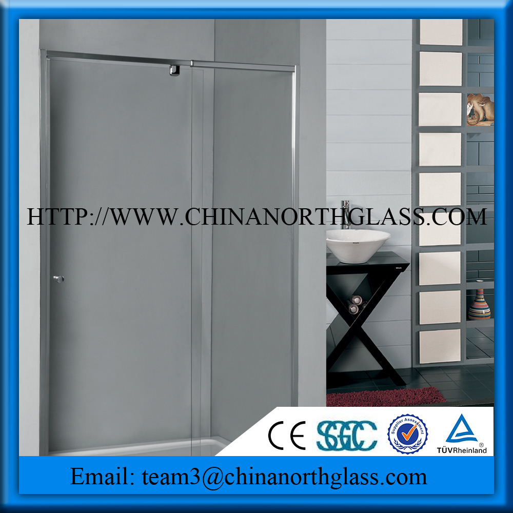 Tempered Toughtened Shower Door Glass pictures & photos