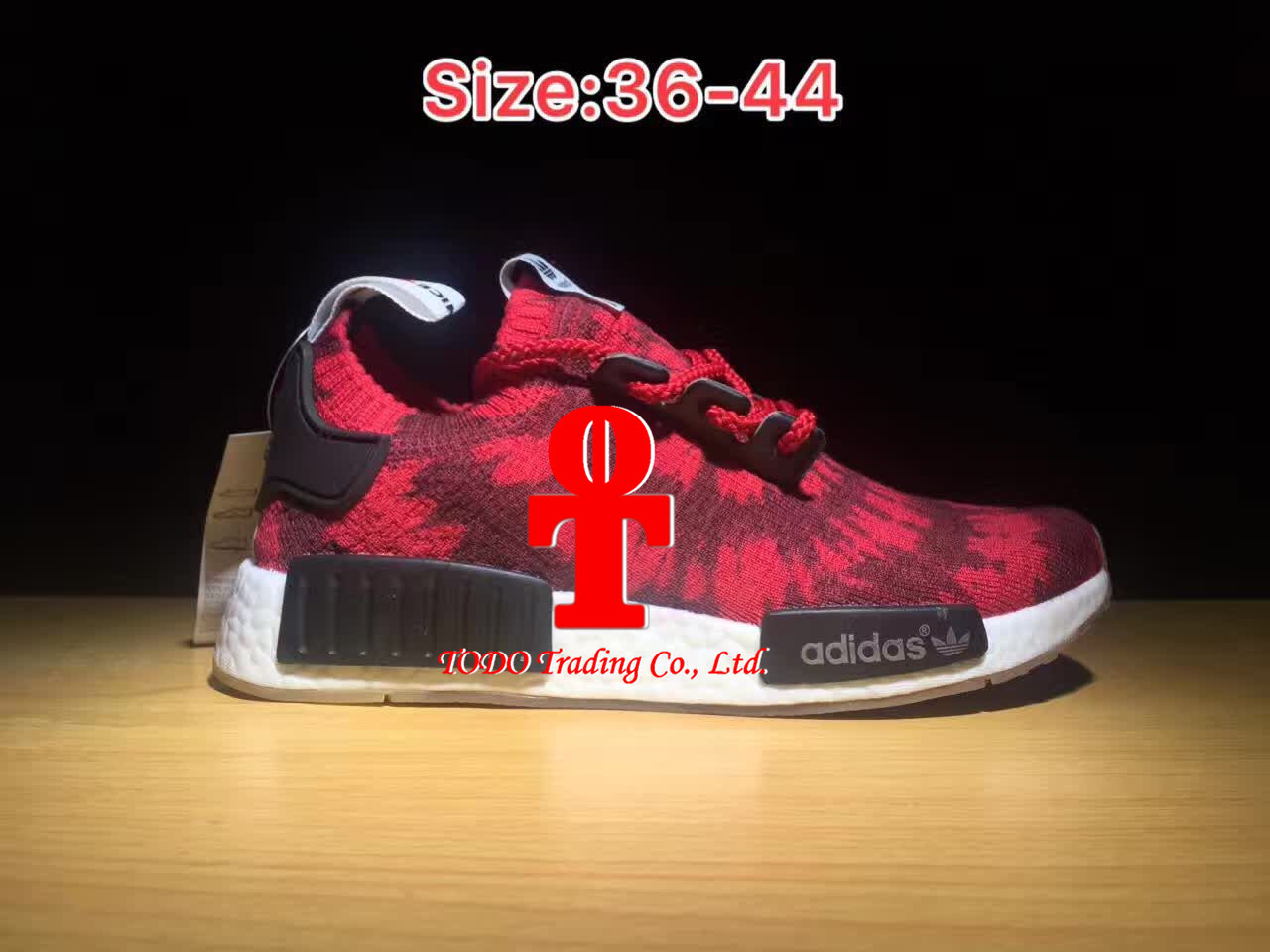c8bd67f376a6e ... official store china addas nmd runner pk the first red clover blue  running shoes for men