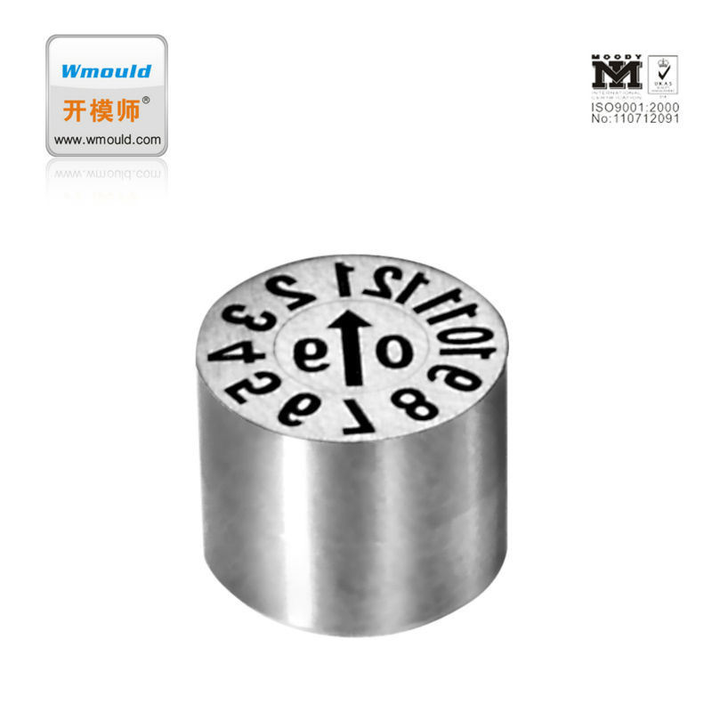 High Quality Plastic Mould Parts Adjustable Date Stamps