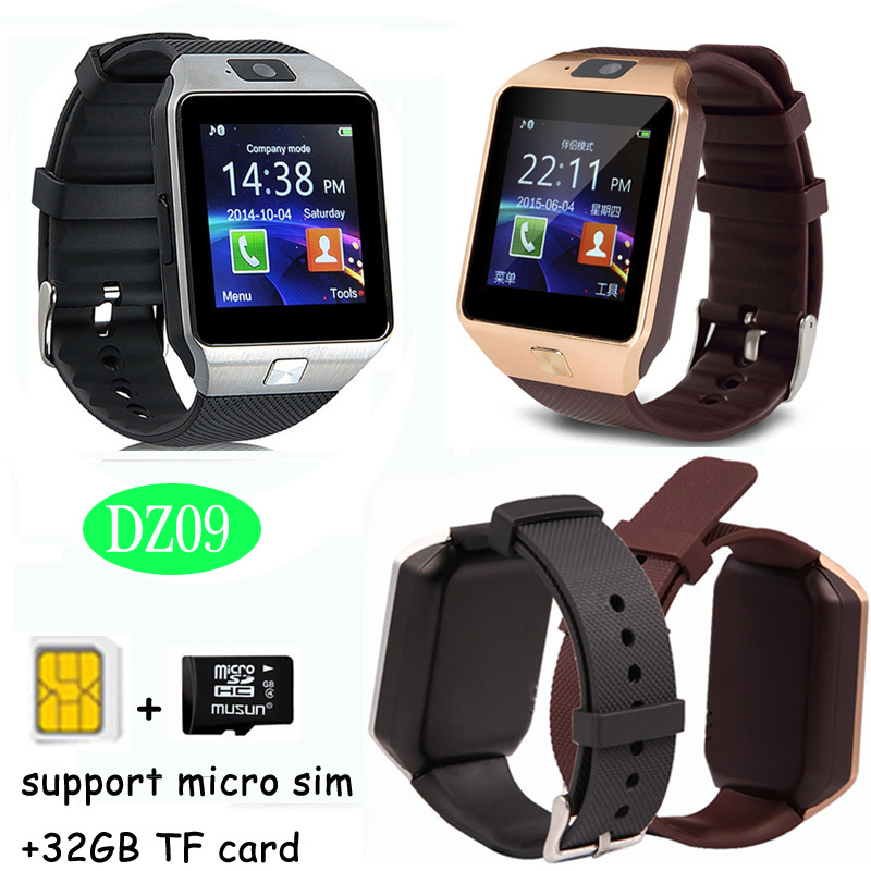 China Smart Watch With Sleep Monitor And Call Function Dz09