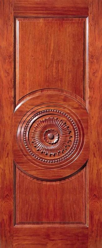 Modern Solid Wooden Wood Door Fancy Door Carving Designs