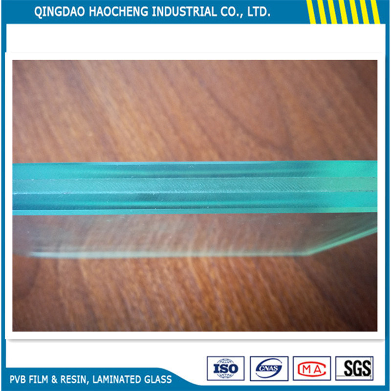 China 1.52mm Transparent PVB Film for Building Laminated Glass ...