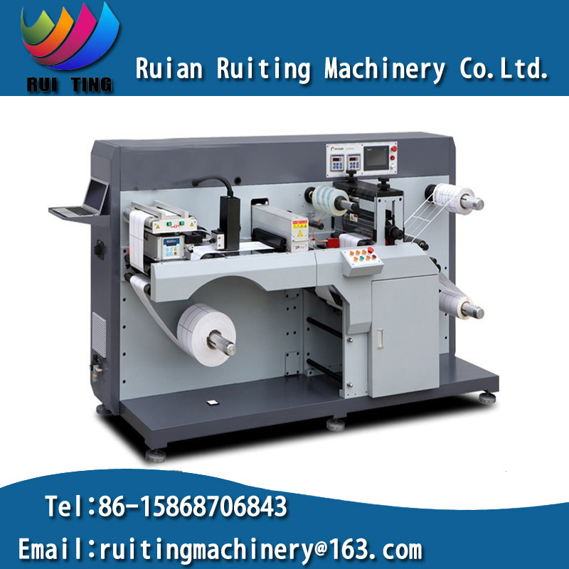 Rtop-330 Automatic Intermittent Rotary Die Cutting Machine for Printed Label