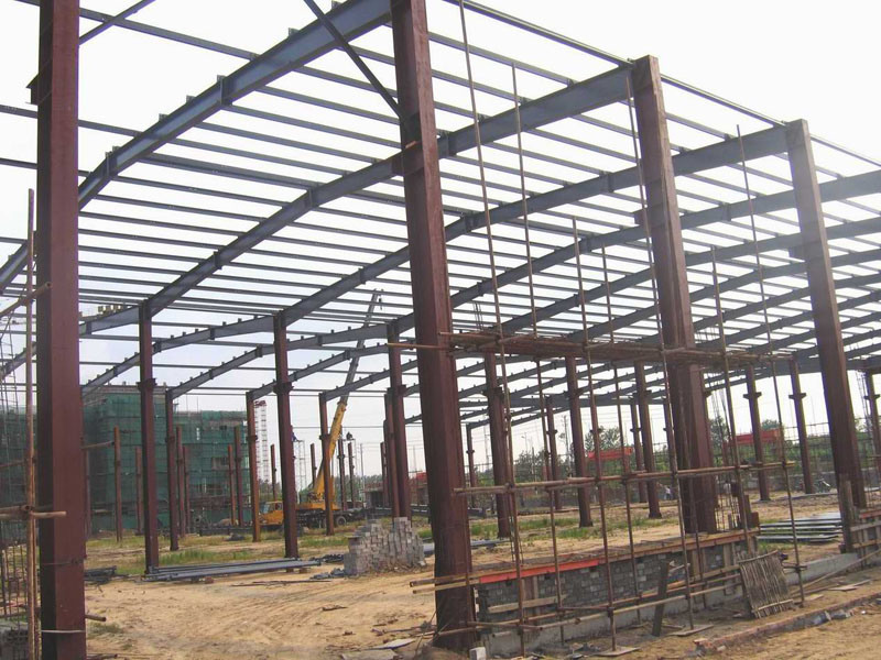 South African Steel Structure Warehouse Construction pictures & photos