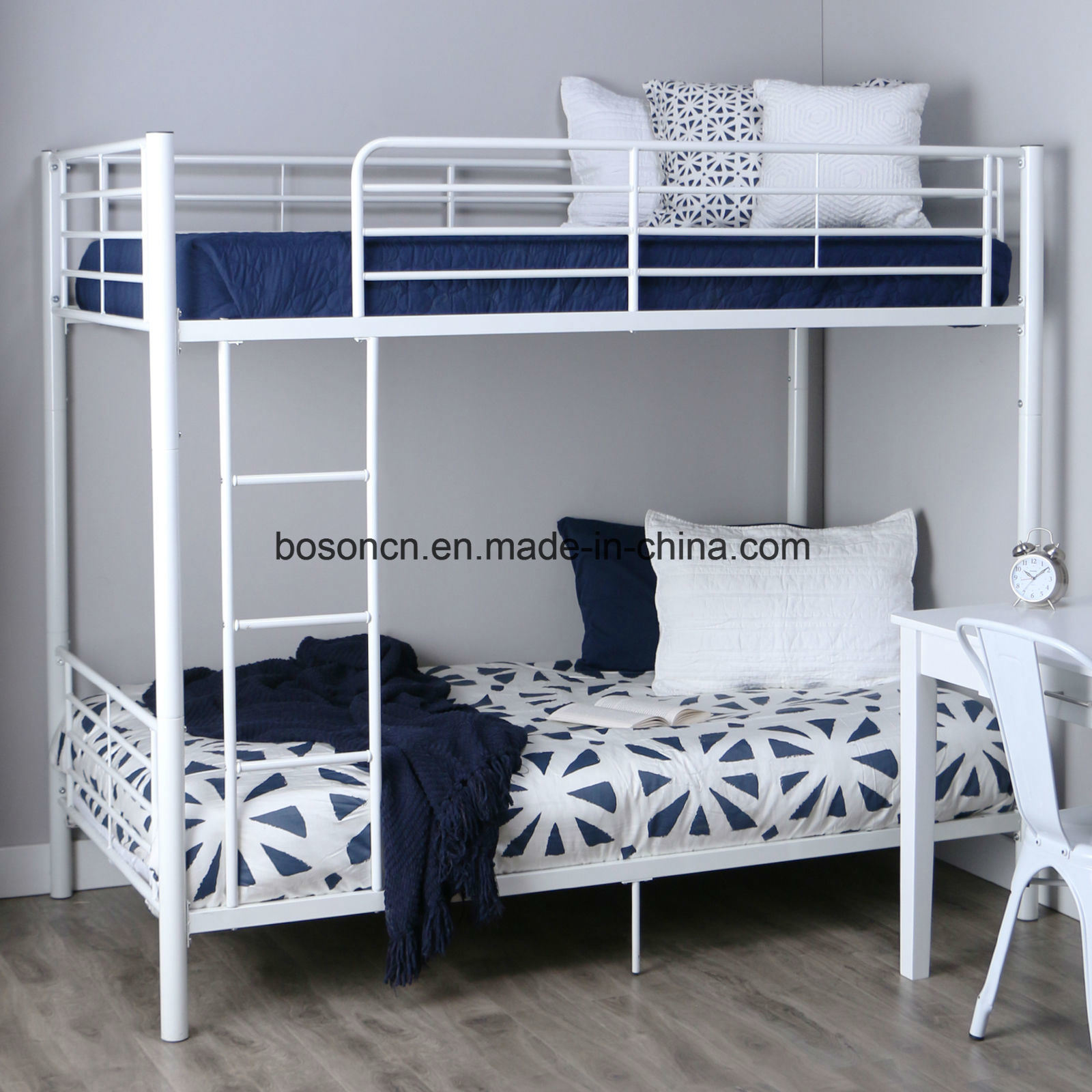 Picture of: China Modern Metal Bunk Bed China Durable Metal Bunk Bed Twin Sleeper Bed