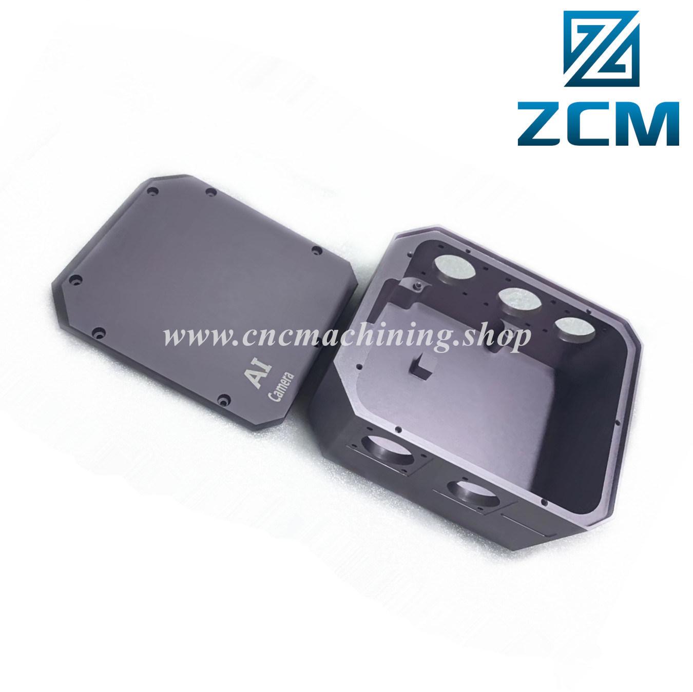 Picture of: China Shenzhen Supplier Cnc Milling Small Quantity Machining Custom Made Metal Precision Box Anodized Aluminum Camera Enclosure Ai Cctv Camera Housing China Cnc Machining Parts Cnc Parts