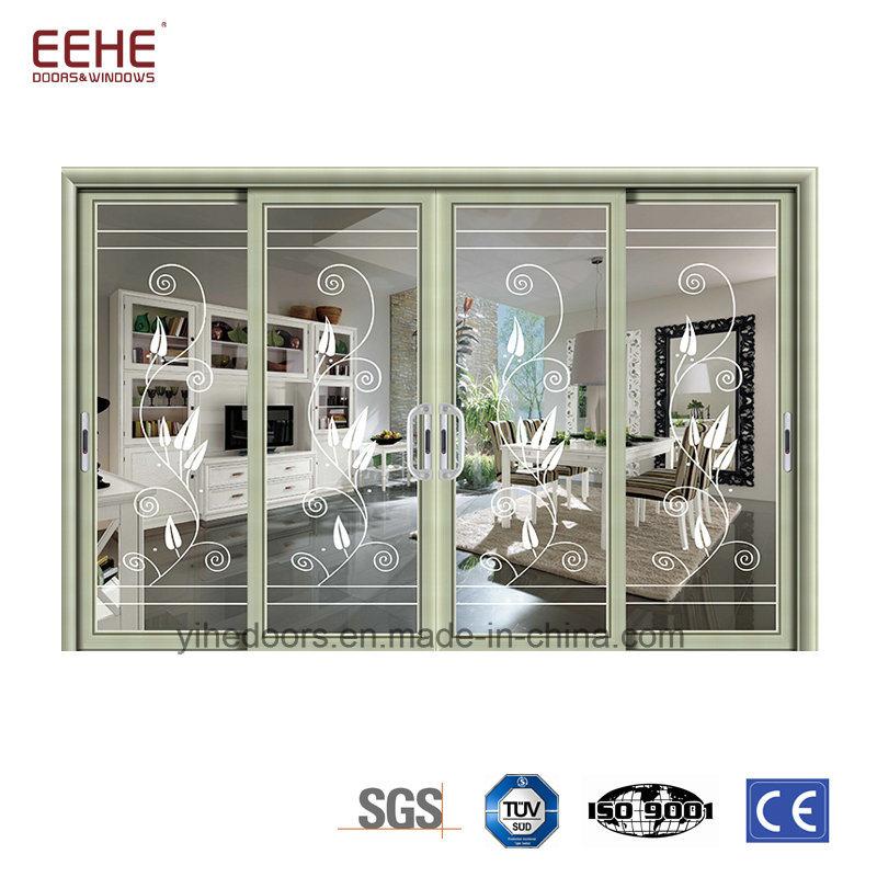 China Aluminum Patio Sliding Doors Sliding Glass Patio Doors With